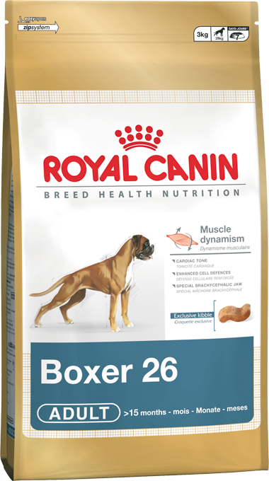 Сухой корм Royal Canin Boxer Adult для взрослых собак породы Боксер