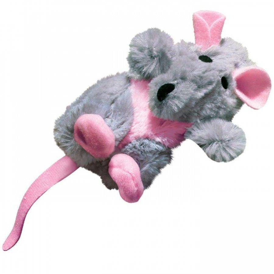 Игрушка для кошек KONG Крыса, с кошачьей мятой