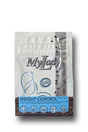 Сухой корм Dr. Alder's My Lady Weight Control для кошек с избыточным весом, пожилых и стерилизованных/кастрированных котов с курицей и печенью