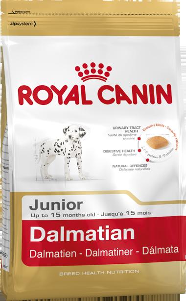 Сухой корм Royal Canin Dalmatian Junior для щенков породы Далматинец