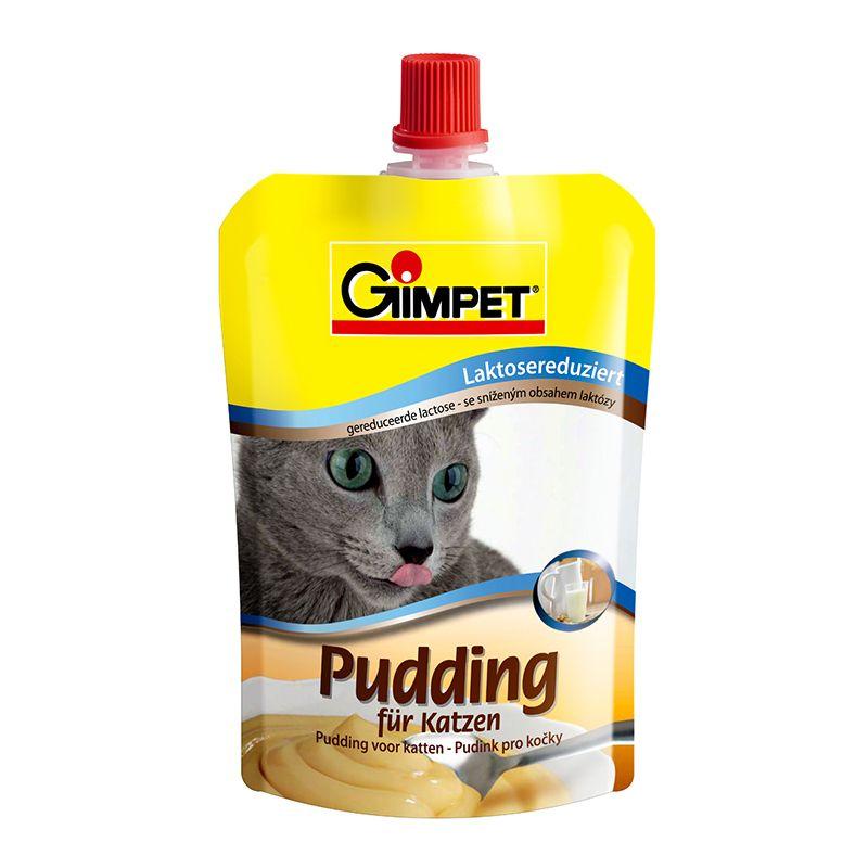 Пудинг Gimpet с пониженным содержанием лактозы для кошек, 150 г