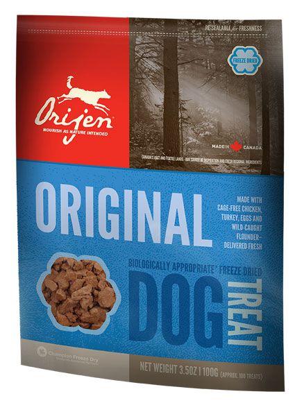 Сублимированное лакомство Orijen Original для собак всех пород