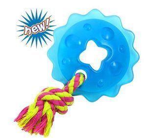 Игрушка Petstages Mini ORKA Ring With Rope Кольцо с канатом для собак