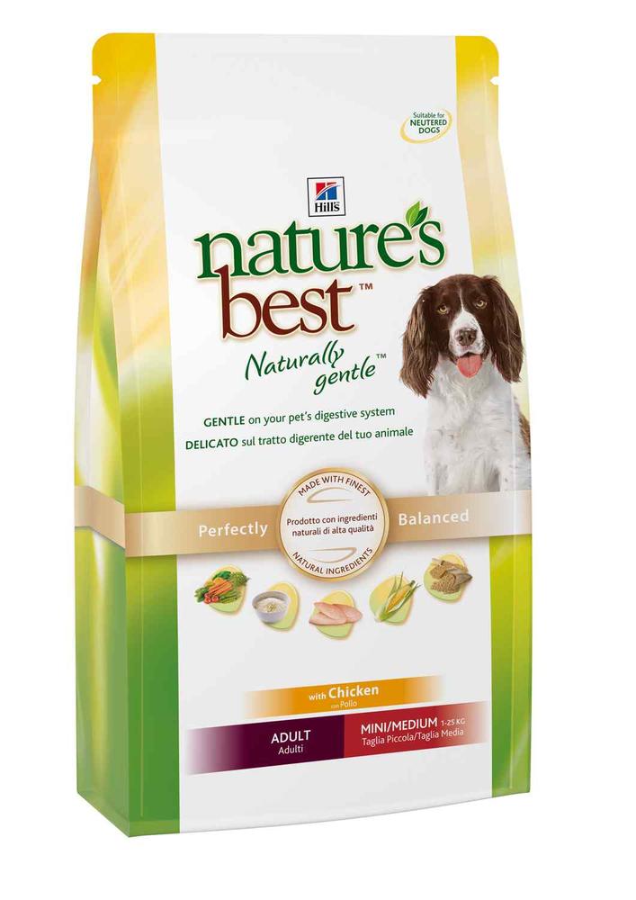 Сухой корм Hill's Nature's Best Adult Mini/Medium для собак мелких и средних пород со вкусом курицы