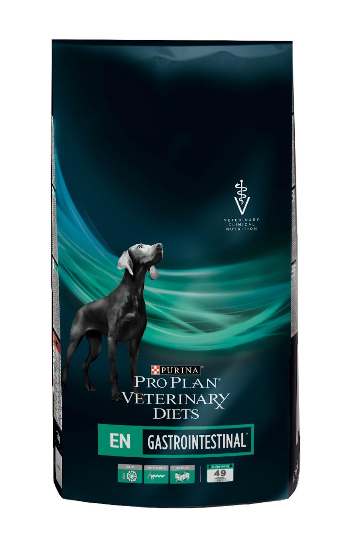 Сухой корм Pro Plan Veterinary Diets EN для собак при патологии ЖКТ