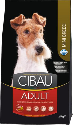 Сухой корм Farmina Cibau Adult Mini для взрослых собак мелких пород