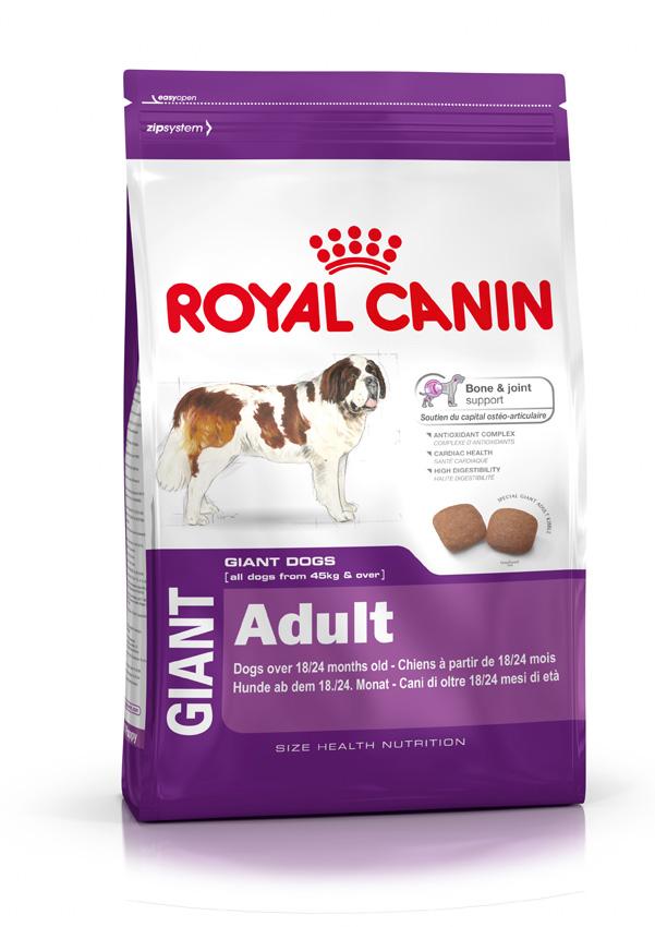 Сухой корм Royal Canin Giant Adult для взрослых собак гигантских размеров 15кг