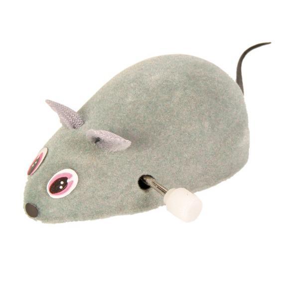 Мышь Trixie заводная 7 см