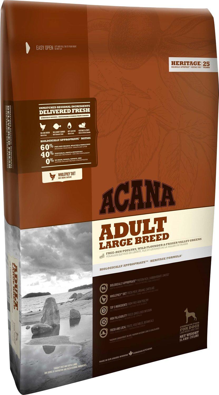 Сухой корм Acana Heritage Adult Large Breed для собак крупных пород