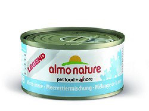 Консервы Almo Nature Legend с морепродуктами для взрослых кошек