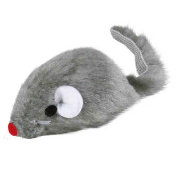 Мышь Trixie светло-серая 5 см