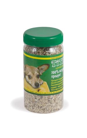 Рубец говяжий TiTBiT молотый в пластиковой банке для собак