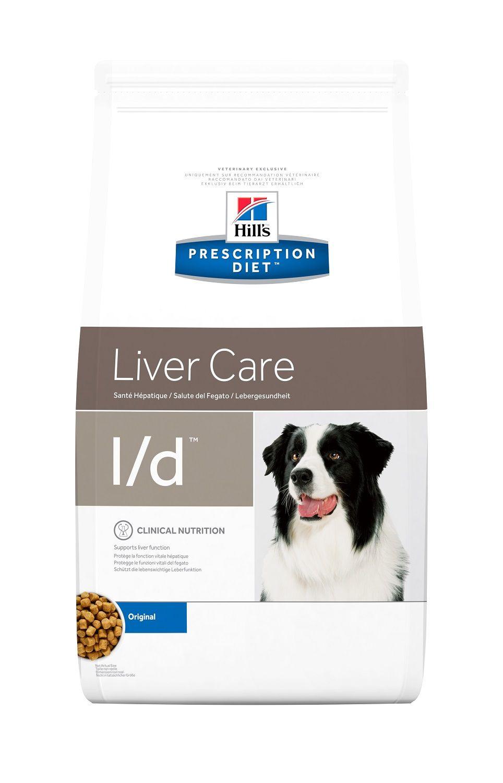 Сухой корм Hill's Prescription Diet L/D Liver Care для лечения заболеваний печени у собак
