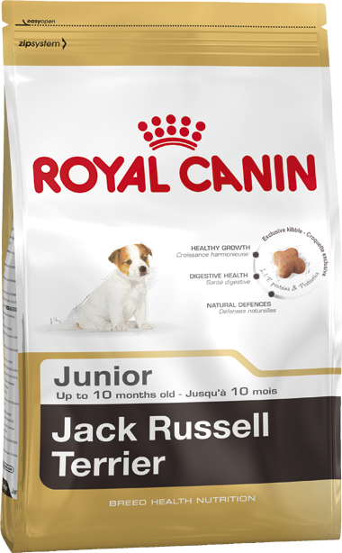 Сухой корм Royal Canin Jack Russell Junior для щенков породы Джек Рассел Терьер (до 10 мес.)