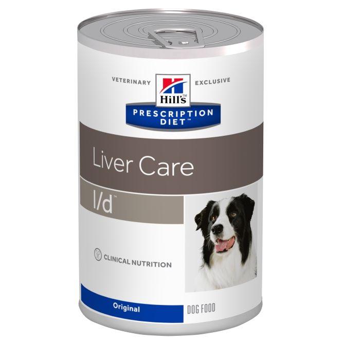 Консервы Hill's Prescription Diet L/D Liver Care для лечения заболеваний печени у собак 370 г