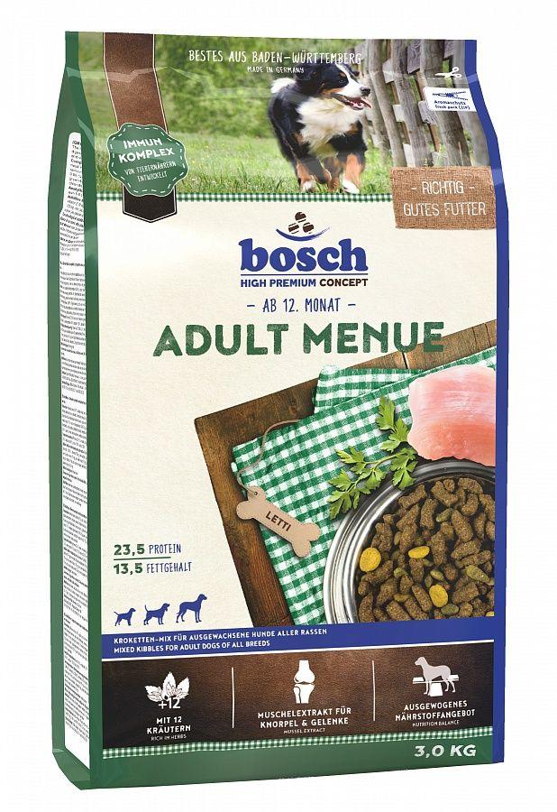 Сухой корм Bosch Adult Menue для взрослых собак