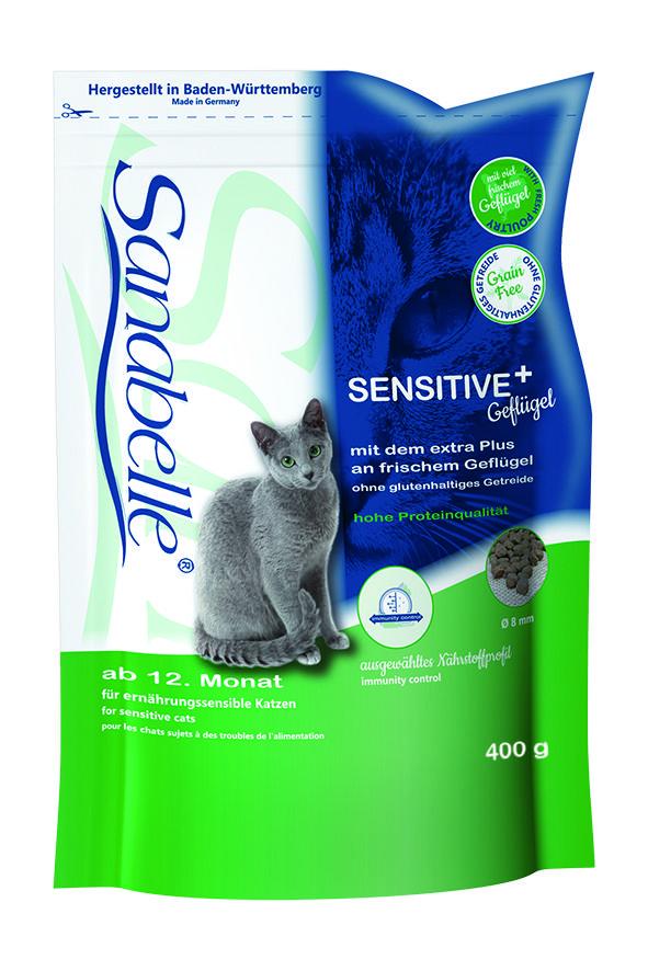 Сухой корм Sanabelle Sensitive для кошек с чувствительным пищеварением