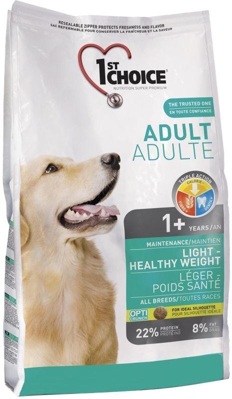 Сухой корм 1st Choice Adult Light облегченный для собак 6 кг