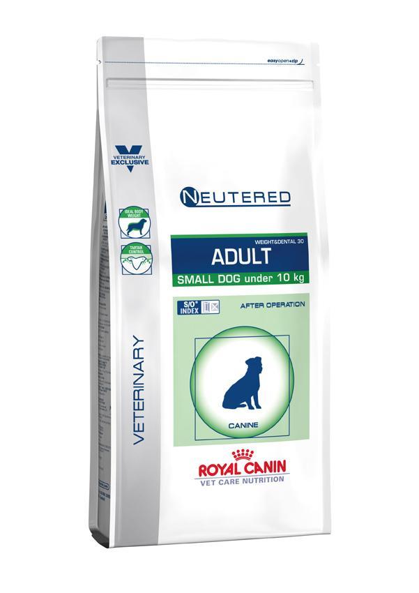 Сухой корм Royal Canin VCN Neutered Adult Small Dog для кастрированных собак мелких размеров