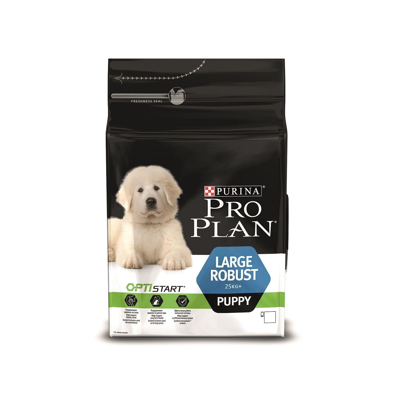 Сухой корм Pro Plan Puppy Large Robust для щенков крупных пород с мощным телосложением
