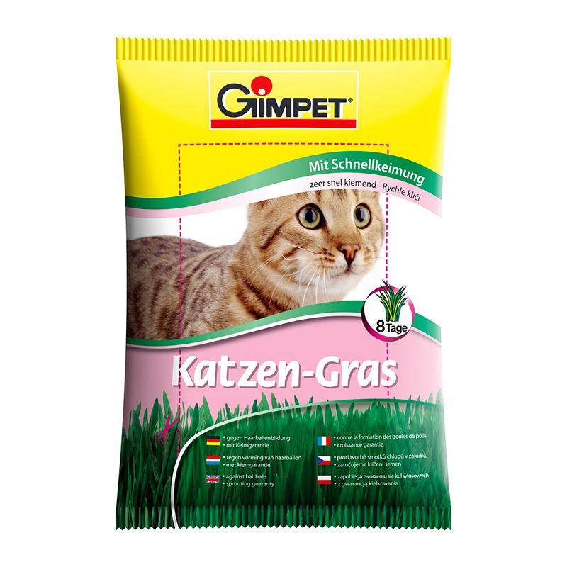 Травка быстрорастущая Gimpet для кошек, 100 г
