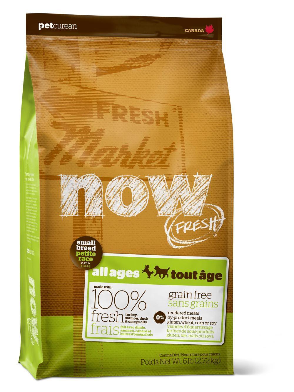 Сухой корм Now Fresh Small Breed All Ages беззерновой с индейкой, уткой и овощами для собак малых пород всех возрастов