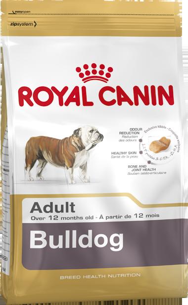 Сухой корм Royal Canin Bulldog Adult для взрослых собак породы Бульдог
