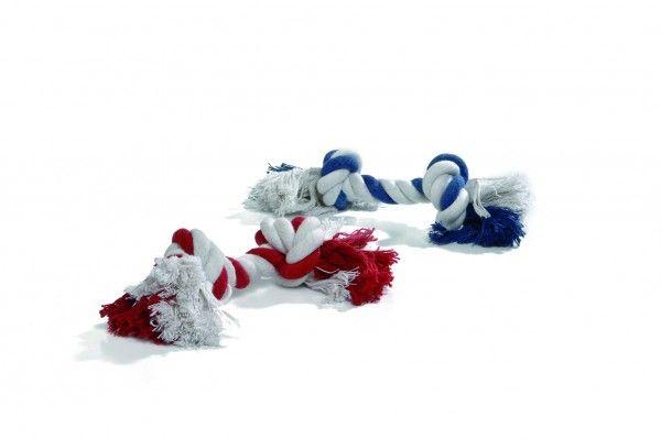 Игрушка I.P.T.S. Beeztees Канат с 2-мя узлами для собак цвета в ассортименте