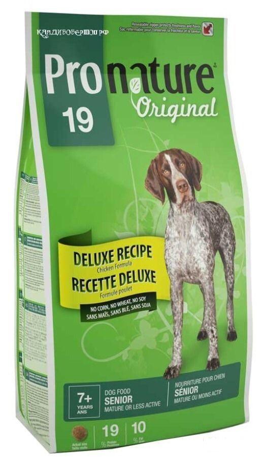 Сухой корм Pronature Original 19 для пожилых собак