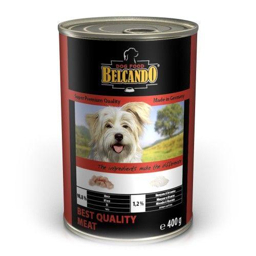 Консервы Belcando с отборным мясом для собак