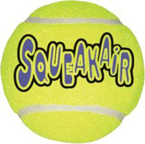 Игрушка Kong Air Dog Squeaker Ball Мячик теннисный средний для собак 6 см