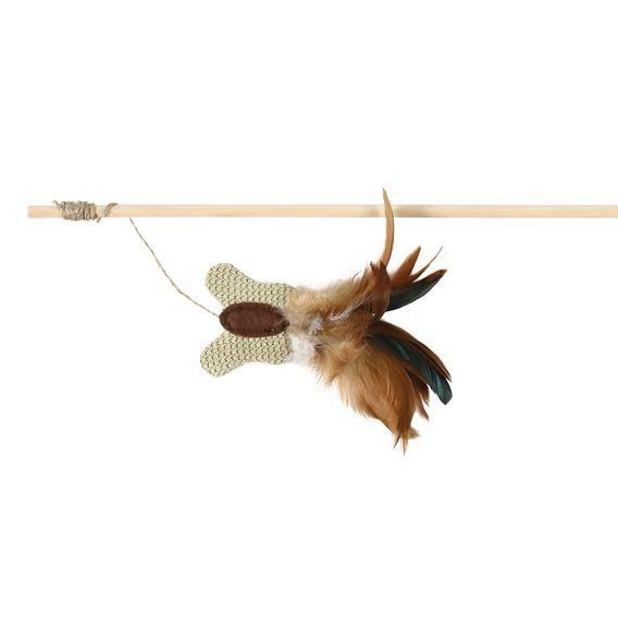 Игрушка Trixie для кошки - Удочка с бабочкой, 45 см,