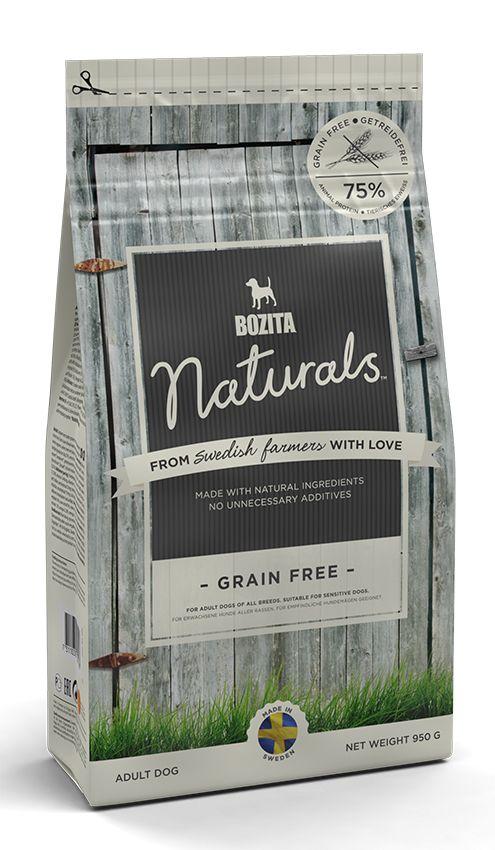 Сухой корм Bozita Naturals Grain Free беззерновой для собак