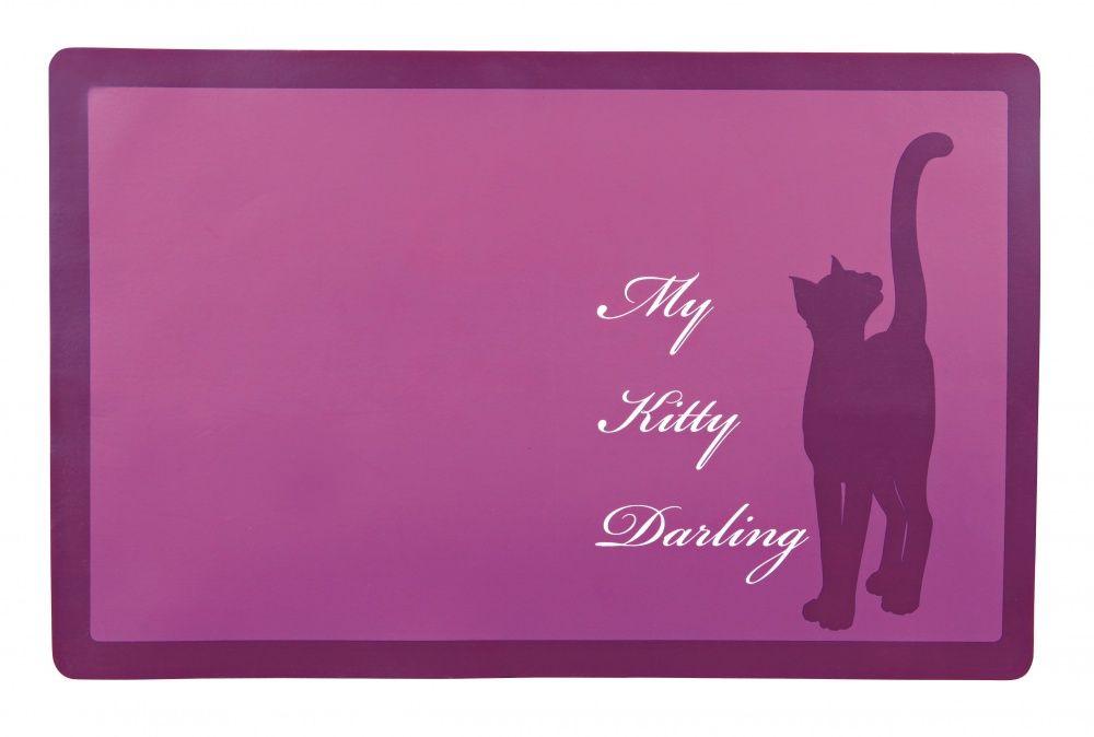 Коврик под миску Trixie My Kitty Darling для кошек