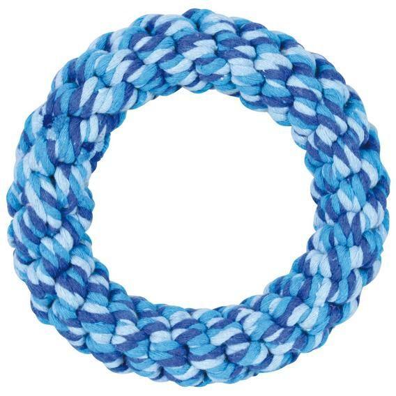 Игрушка Trixie Кольцо плетеное для собак