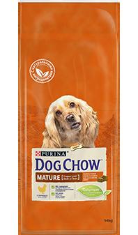 Сухой корм Dog Chow Mature Adult для собак старше 5 лет