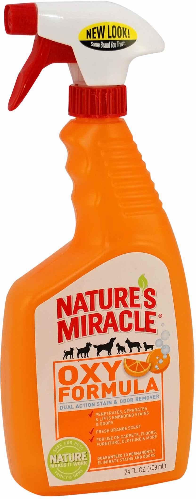 Спрей 8in1 Orange-Oxy Formula уничтожитель пятен и запахов от собак 710 мл