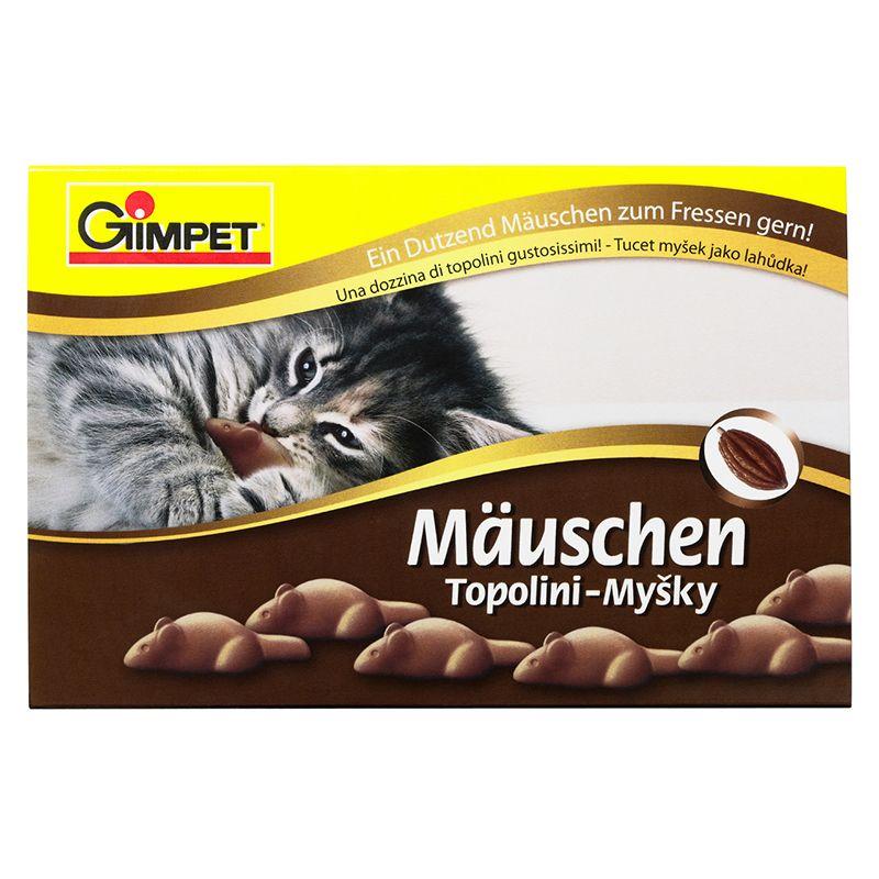 Подарочные мышки Gimpet для кошки, 12 шт