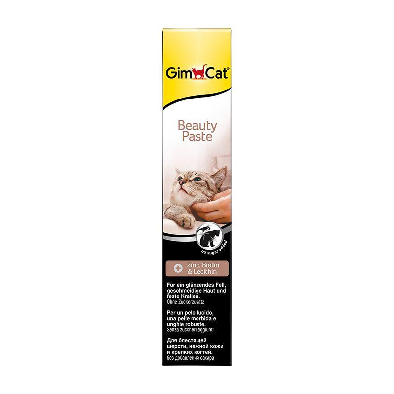 Витаминизированное лакомство Gimpet Beauty-Paste паста с цинком и биотином для кошек