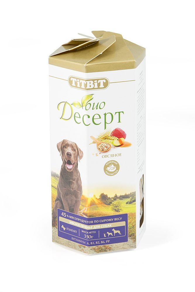 Печенье TiTBiT овсяное стандарт для собак
