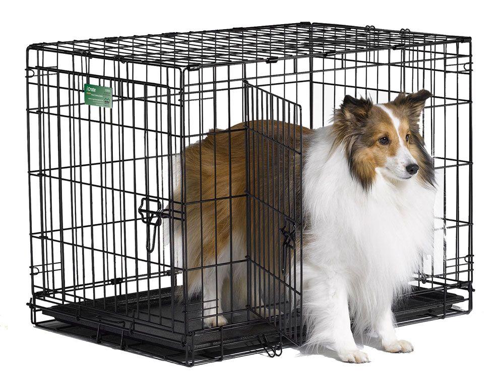 Клетка Midwest iCrate двухдверная для собак