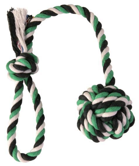Игрушка Trixie Denta Fun 3269 Веревка с узлом для собак 50см