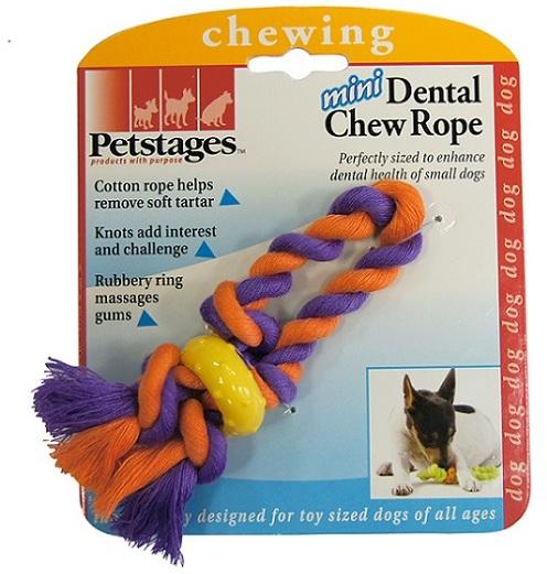 Игрушка для собак Petstages Mini Канат с узлами, большой