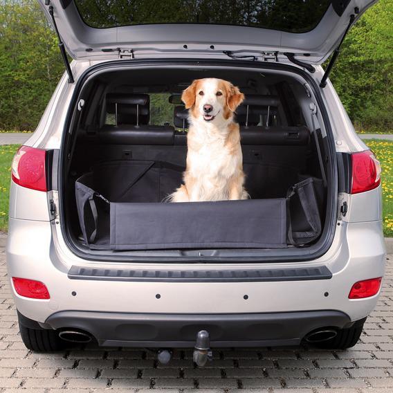 Автомобильная подстилка Trixie черная для багажника
