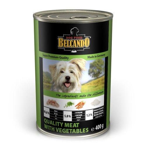 Консервы Belcando с отборным мясом и овощами для собак