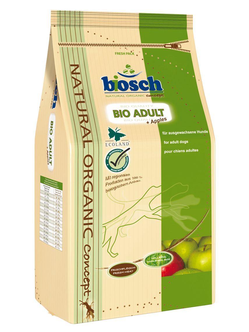 Сухой корм Bosch Bio Adult органический с яблоками для взрослых собак