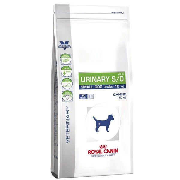 Сухой корм Royal Canin Urinary S/O Small Dog USD20 диета для мелких собак при заболеваниях МКБ