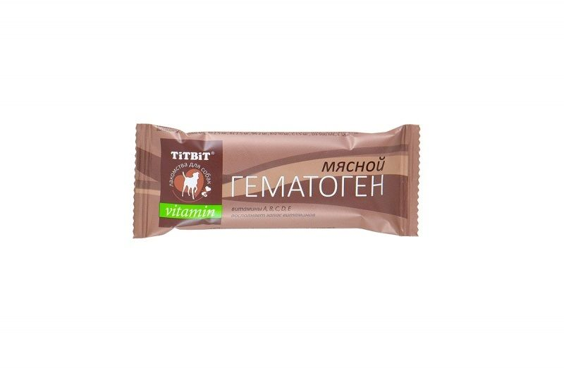 Гематоген TiTBiT мясной vitamin