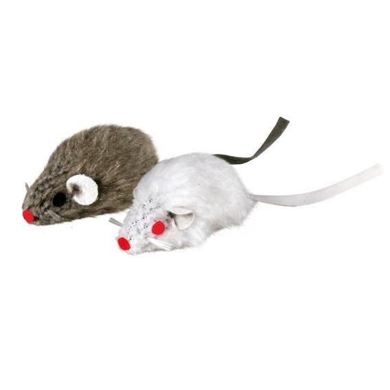 Набор из 2-х мышей Trixie 5 см