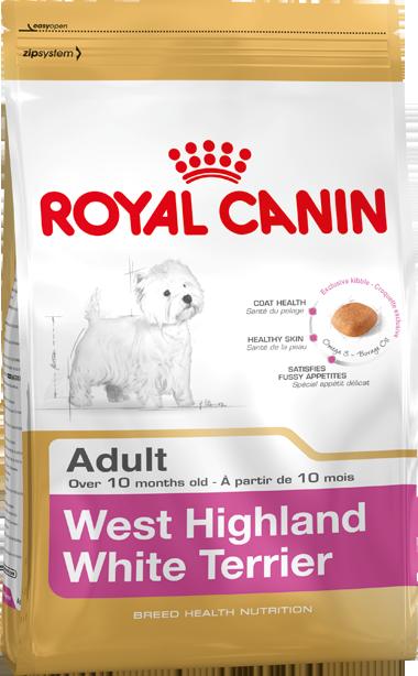 Сухой корм Royal Canin West Highland White Terrier Adult для собак породы Вест-Хайленд Уайт терьер